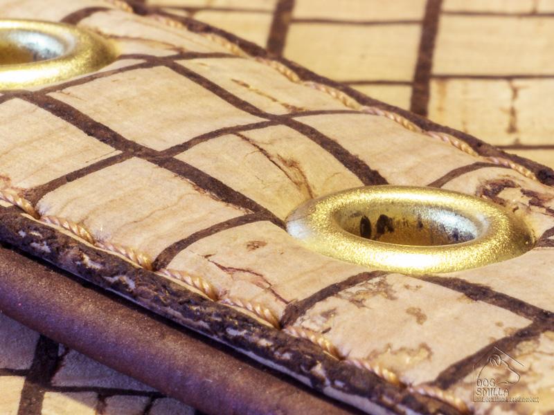 Kork-Halsband Detail